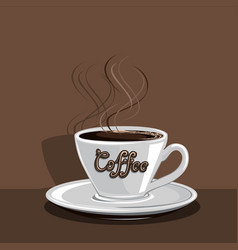 Coffee mug vector