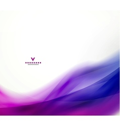 Colorful abstract wave design template vector