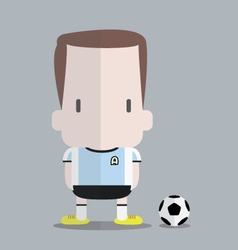 Foot ball player vector