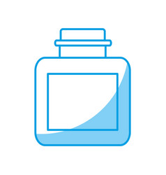 Fraganec bottle icon vector