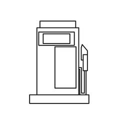 Gasoline dispenser station vector