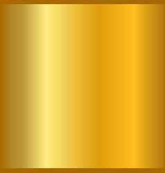 gold gradient smooth texture empty golden metal vector image