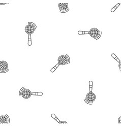 magnified global glass pattern seamless vector image