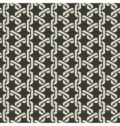 monochrome mesh chain seamless pattern vector image vector image