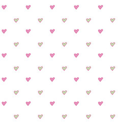 seamless abstract pattern with little simple vector image