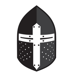 Antiques Roman helmet2 vector image