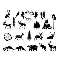 christmas hand drawn design vector image