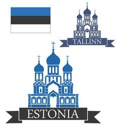 Estonia vector