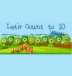 Lets count number to ten vector