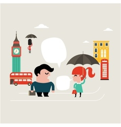 Travel London vector