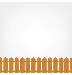 Wooden fence seamless pattern for your design vector