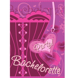 Wrapping gifts bachelorette party vector