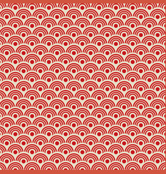 traditional oriental ornamental pattern vector image vector image