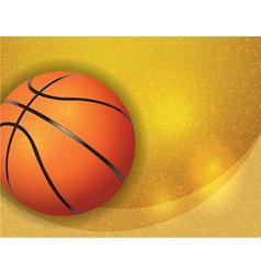 Basketball Highlights Texture vector image vector image