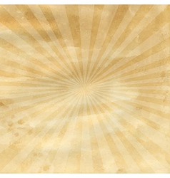 Old Paper With Sunburst vector image