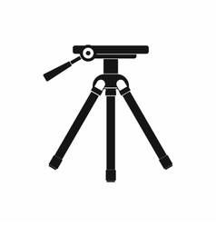 Tripod icon in simple style vector image