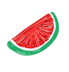 bright inflatable ring on white background summer vector image