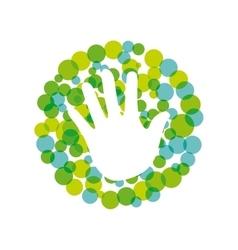 Ecology icon design vector