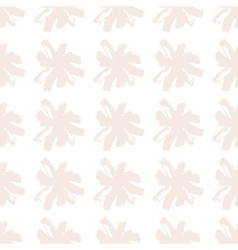 Floral seamless pattern of stroke camomile pattern vector