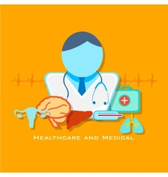 Healthcare and Medical Concept vector image