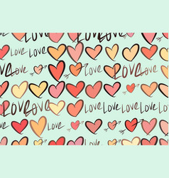 Love for valentine day celebrations or vector