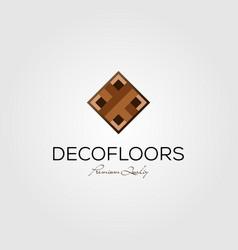 minimalist parquet flooring vinyl hardwood vector image
