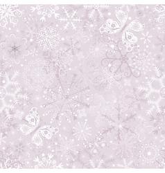 pastel seamless christmas vector image