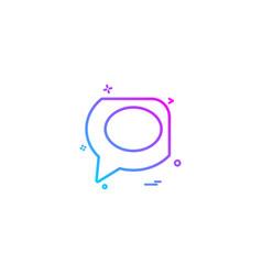 Technorati icon design vector