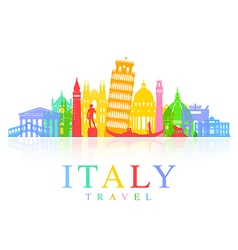 Italy travel vector