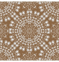 White water drops on brown background vector image