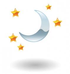 nightlife illustration vector image vector image