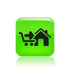 buy icon vector image vector image