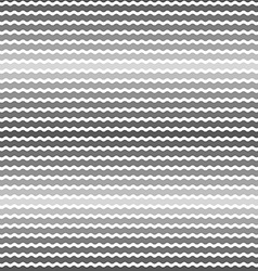 Wave gray gradient background seamless pattern vector image