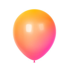 3d colorful birthday balloon vector image