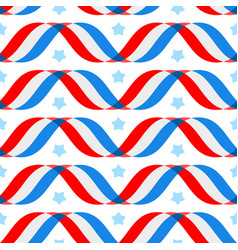 american patriotic background independence day vector image