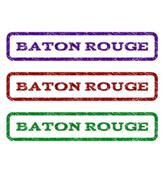 Baton rouge watermark stamp vector