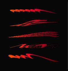 car motorcycle racing vehicle graphics vinyls vector image