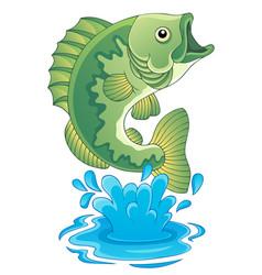 Freshwater fish theme image 6 vector