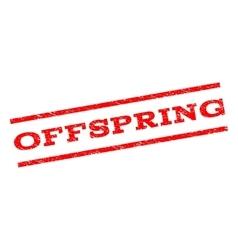 Offspring Watermark Stamp vector