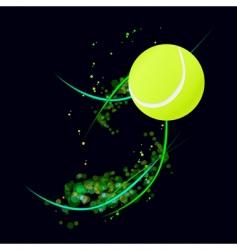 tennis background vector image