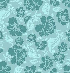 Floral seamless pattern Vintage ornament of rose vector image