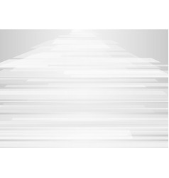 abstract white geometric overlap on background vector image