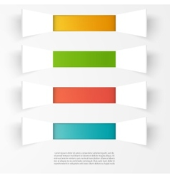 background squares Set web design vector image
