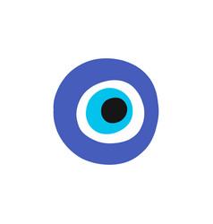 Fatima eye doodle icon vector