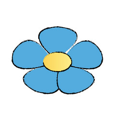 Flower spring flora botanical plant image vector