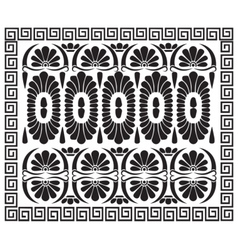 Greek pattern ornament vector image vector image
