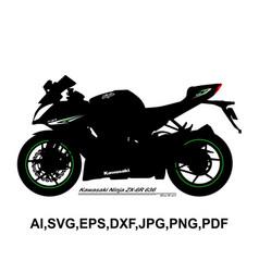 Kawasaki ninja zx 6r 636 vector