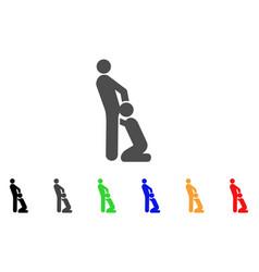 oral sex gays icon vector image