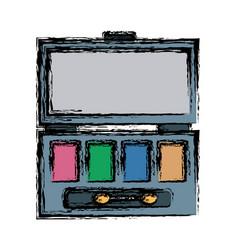 women make up case vector image vector image