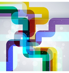 Abstract pipes background vector image